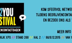 Uitnodiging bedrijvencontactdagen op 9 en 10 december in KortrijkXpo